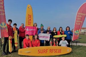 Dunbar Surf Life Saving Club - just one of the organisations which will benefit from the new centre at Belhaven