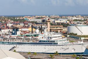 Freewinds, seen here in 2014. Photo: Shutterstock.