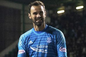 Aberdeen keeper Joe Lewis has signed a new five-year deal. Picture: Craig Williamson/SNS
