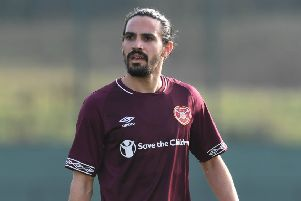 Ryan Edwards has forced his way into Craig Levein's plans in recent weeks. Picture: SNS Group