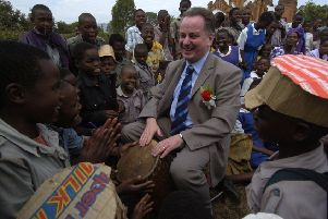 The then First Minister Jack McConnell on a 2005 trip to Malawi when Susan Dalgety fell in love with the country (Picture: Donald Macleod)