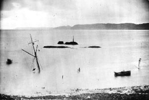The Royal Navy yacht Iolaire was approaching Stornoway harbour on 1 January 1 1919 when it struck a submerged reef.