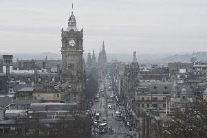Radical plans to ban the most polluting vehicles from the whole of Edinburgh are being considered by city council leaders. Picture: Greg Macvean/TSPL