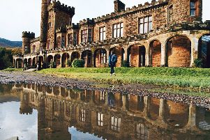 Kinloch Castle is now subject of a multi-million pound bid to save it.