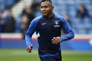 Alfredo Morelos has been sent off five times this season - which could put English clubs off the striker, according to Graeme Souness. Picture: SNS Group