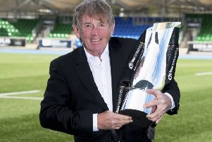 Sir Kenny Dalglish helps promote this month's Pro14 final. Picture: Craig Foy/SNS