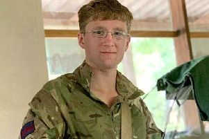 Mathew Talbot, of the 1st Battalion Coldstream Guards, who was killed by an elephant while on an anti-poaching patrol in Malawi.