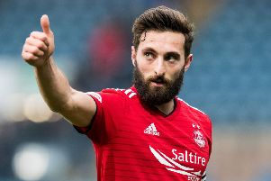 Graeme Shinnie will complete his switch when his Aberdeen deal expires. Picture: SNS Group