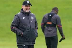 Hearts manager Craig Levein. Picture: SNS