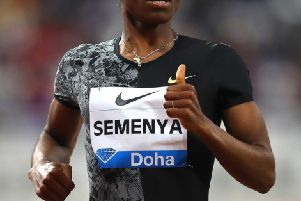 South African 800m runner Caster Semenya. Picture: Francois Nel/Getty
