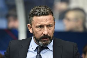 Aberdeen manager Derek McInnes has been tipped for the Scotland job - by one of his own players. Picture: SNS Group