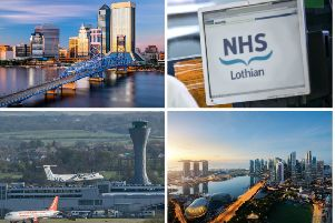 More than 200 overseas trips were made by NHS Lothian staff in 2018. Pictures: JPI Media/ Shutterstock - Traveler Pix (Singapore) and ESB Professional (Jacksonville, Fl)