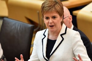 Nicola Sturgeon faces major decisions following her declaration of a 'climate emergency' (Picture: Andy Buchanan/AFP/Getty Images)