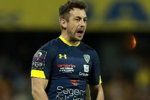 Greig Laidlaw will start on the bench for Clermont Auvergne looks in the Challenge Cup final. Picture: David Rogers/Getty Images