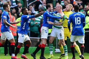 """Rangers' Ryan Kent has claimed the Ibrox side are inside Celtic players heads due to """"bossing"""" Old Firm games (Photo: Getty Images)"""