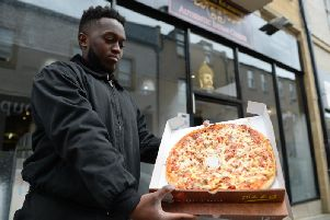 The aardvark pizza is being sold by a restaurant in Kilmarnock (Photo: SWNS)