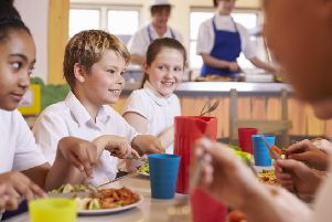 A three-week vegan menu is available on request throughout the Glasgow area in schools and nurseries. Picture: Contributed