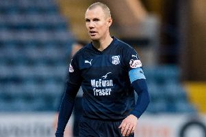 Kenny Miller has broken a long-standing record for Dundee. Pic: SNS/Ross Parker