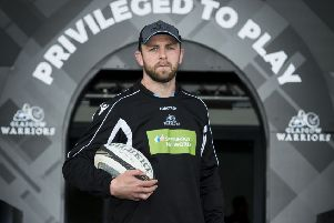 Glasgow Warriors' Ryan Wilson looks ahead to the Guinness Pro14 semi final against Ulster. Pic: SNS/SRU/Paul Devlin