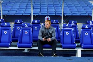 Neil Lennon admitted his team lacked quality in the final Old Firm game of the season. Picture: SNS Group