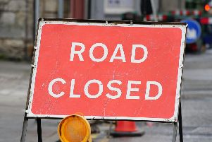 A68 will be closed tonight.