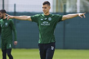 Filip Benkovic has been talking about his Celtic future. Picture: SNS Group