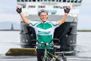 80-YEAR-OLD SCOTTISH GRAN AIMS TO BREAK WORLD RECORD WITH 1000-MILE CHARITY CYCLE IN MEMORY OF HER CHILDREN