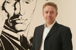 "Mark Millar who has said it would be his ""dream"" gig to become the chief executive of Creative Scotland once his current comic franchises are finished. See Centre Press 'story' CPCOMIC; The ""Kick-Ass"" creator said he will apply for the job of chief executive of Creative Scotland from 2019 should it become available. And Millar, originally from Coatbridge, North Lanarkshire, already has ideas for how to improve the organisation. Millar, who created comics-turned-movies such as ""Kick-Ass"", ""Kingsman"" and ""Wanted"", said he would bring a wealth of experience to the role from a career in comics and in Hollywood."