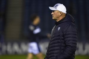 Vern Cotter, who has been given a new role at Montpellier.