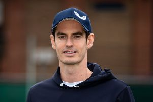 Sir Andy Murray has invested in a new sport that is a hybrid between tennis and squash. Picture: Steven Paston/PA Wire