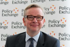 Michael Gove refused to be drawn on whether the UK government would adopt new targets on emissions to deal with climate change.