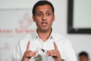 Labour MSP Anas Sarwar speaks. Picture: Jeff J Mitchell/Getty Images