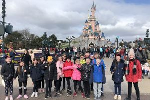 The Beancross Primary School children had a great time at Disneyland Paris