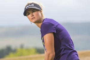 Carly Booth is tied for 15th at the La Reserva de Sotogrande Invitational. Picture: SNS.