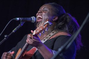 Authentic-feeling bluesy-Americana was on offer from singer/songwriter Yola.