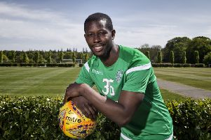 Marvin Bartley expects his Easter Road farewell against Aberdeen to be an emotional one. Picture: SNS