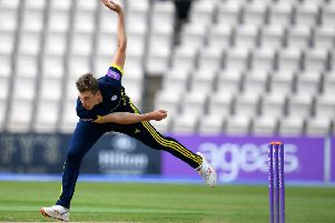 Scotland's Brad Wheal in action for Hampshire. Picture: Harry Trump/Getty Images