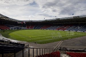 Hampden will stage group stages matches, as well as a last 16 fixture. Pic: SNS