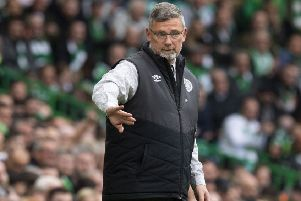 Hearts manager Craig Levein revealed Olly Lee may miss the final. Pic: SNS/Alan Harvey