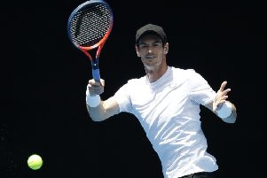 Andy Murray's rehab following hip surgery is going to plan, according to his brother Jamie.  Picture: Kin Cheung/AP
