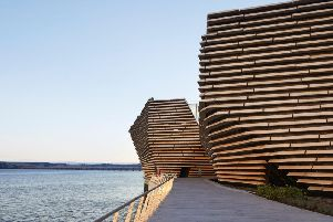 V&A Dundee attracted more than 300,000 visitors in its first three months since opening its doors in September.