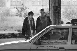 Beats is the story of a pair of teens ' the straight-laced Johnno (Cristian Ortega) and his bampot best pal Spanner (Lorn Macdonald) ' embarking on a hedonistic journey of self-discovery over the course of a single night