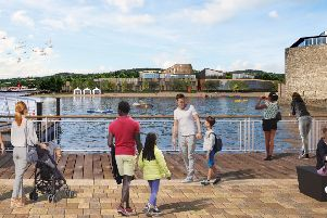 The proposals include a 60-bedroom apart-hotel, a craft brewery, boat house, leisure centre and restaurants. Picture: PA