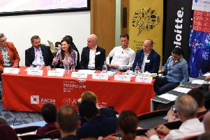 The Scotsman's 2018 fintech event at the University of Strathclyde. Picture: John Devlin