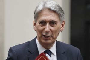Britain's Chancellor of the Exchequer Philip Hammond. Picture: AP Photo/Alastair Grant