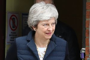Prime Minister Theresa May's final plea to MPs to back her Brexit deal has fallen flat. Picture: Andrew Matthews/PA Wire