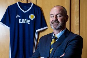 New Scotland manager Steve Clarke is due to name his first squad on Tuesday, ahead of the matches against Cyprus and Belgium. Picture: SNS.