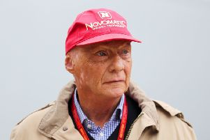Formula 1 racing team McLaren said it is 'deeply saddened' to learn that three-time world champion driver Niki Lauda has died. Picture David Davies/PA Wire