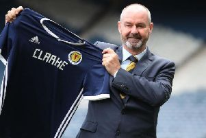 Steve Clarke was named Scotland boss on Tuesday (Photo: Getty Images)