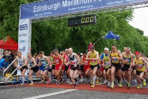 Thousands of runners will be donning their running shoes for the Edinburgh Marathon this weekend